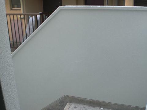 倉庫手摺壁 クリスタルウォール塗替え工法サムネイル